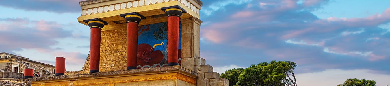 Knossos Palace archaeological local sight in crete